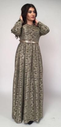 Платье Натали с люрексом