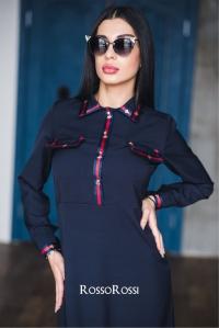 Платье с репсовой лентой