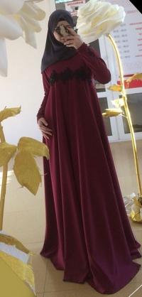 Платье мелиса бордо