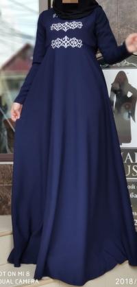 Платье креп с орнаментом