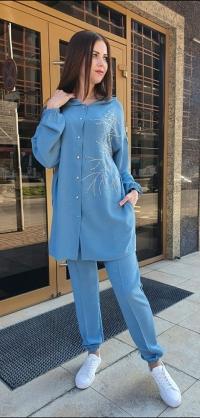 Брючный костюм евролен