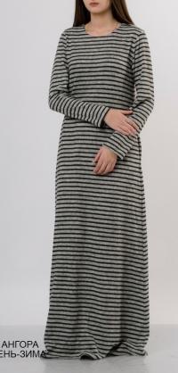 Платье ангора полоска