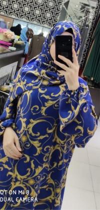 Намазник орнамент синий