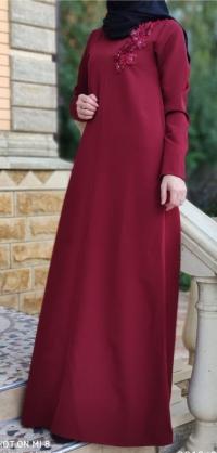 Платье барби бордо