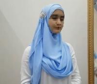 Готовый хиджаб нарядный цвета разные