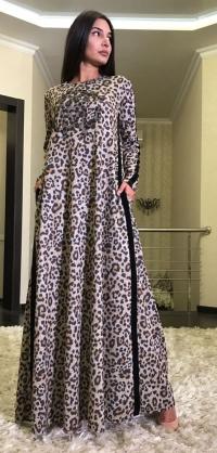 Платье SML трикотаж, цвета разные