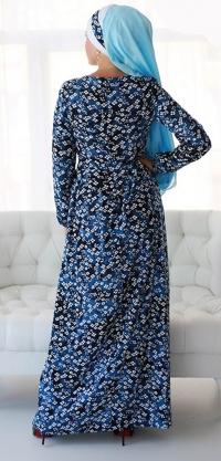 "М564 Платье ""Цветок неба"