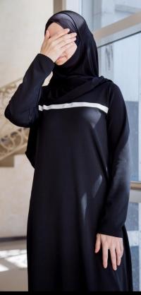 Спортивное платье мелиса черное
