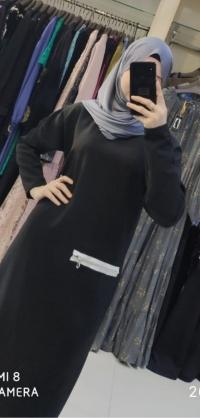 Платье барби черное