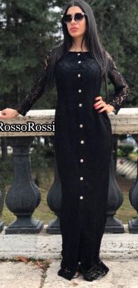 Платье из итальянского гипюра Armani 4