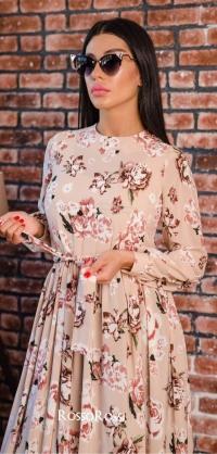 Платье софт полусолнце 2