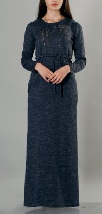 Платье ангора с кулиской