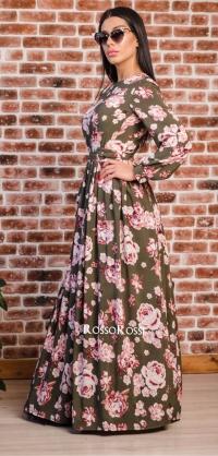 Платье софт полусолнце 1