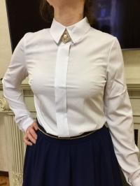Рубашка белая софт