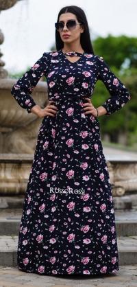 Платье с перепонкой