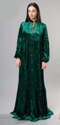 Платье Лина велюр