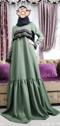 Платье барби зеленое