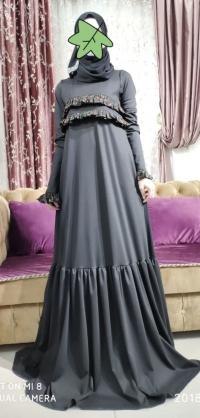 Платье лакосте серое