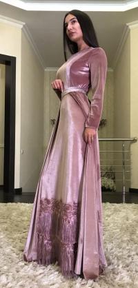 SM королевский велюр с бахромой разные цвета