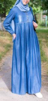 Платье КАМИЛЛА джинса