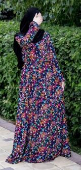 Платье много цветов