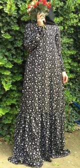 Платье штапель звездопад