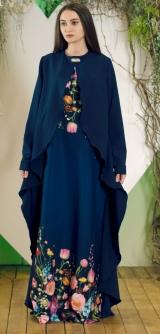 Платье Альба синее