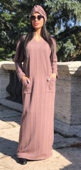 Платье вязка Росита беж