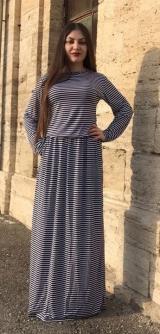 Платье зебра на резинке