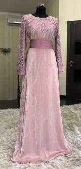 Платье праздничное розовое