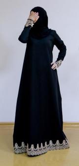 Платье барби-армани черное