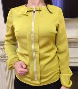 Блузка шёлк жемчуг