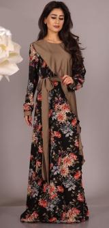 Платье Сахара черное