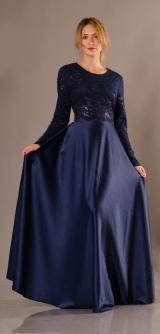 Платье Леонора с гипюром