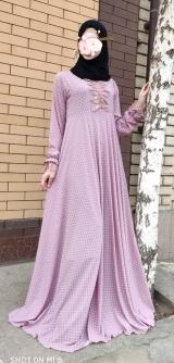 Платье креп-шифон разные расцветки 2