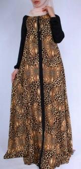 Платье Зухра леопард