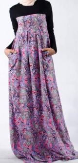 Платье Венгерка розовое