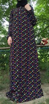 Платье штапель шанель