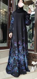 Платье креп-шифон разные расцветки 1