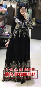 Платье штапель узоры