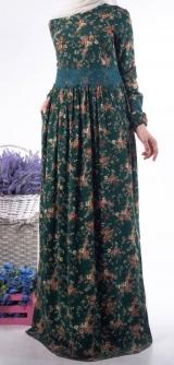 Платье Макка зеленое