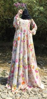 Платье креп-шифон поляна