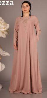 Платье со стразами цвета разные, разм: 44-54