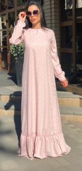 Платье Батист розовое