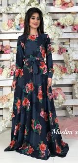 Платье полусолнце софт 1