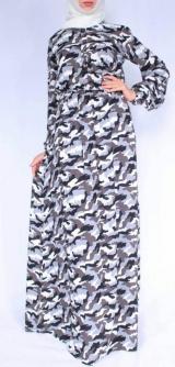Платье Милитари штапель