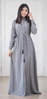 Платье-халат «Кипарис» Лен