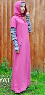 Платье Таира малина