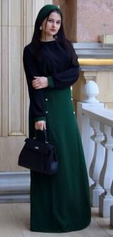 Костюм Лоренсия черный/зеленый