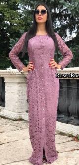 Платье из итальянского гипюра Armani 1